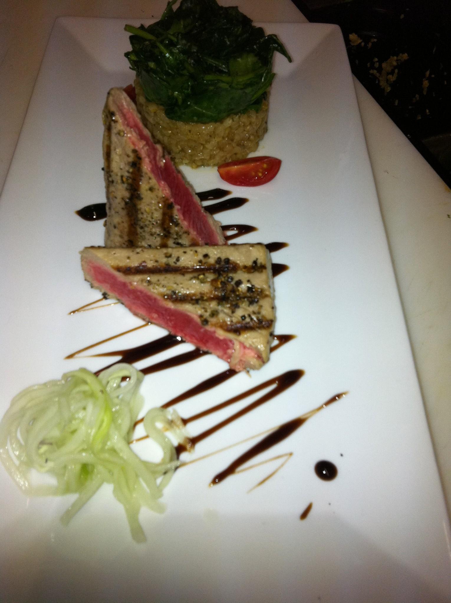 Photo: tuna at the kasbah reataurant