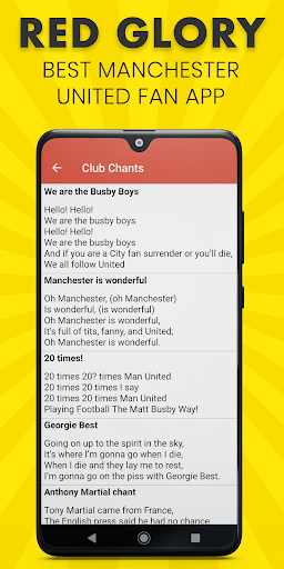 Red Glory - Manchester United Fan App by The Fans 5.1.0 screenshots 5