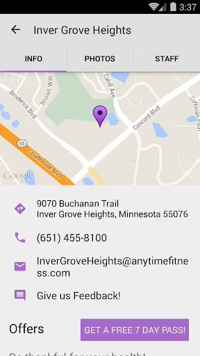 Anytime Fitness - Apps on Google Play