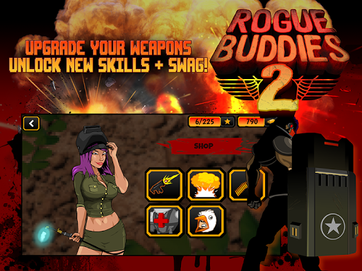 Rogue buddies 2 1.1.0 gameplay | by HackJr.Pw 5