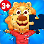 Puzzle Kids - Animals Shapes and Jigsaw Puzzles icon
