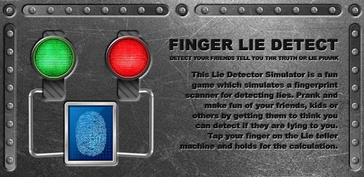 Finger Lie Detector Test Prank Free on Windows PC Download Free
