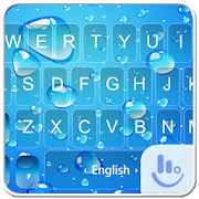 App Blue Water Drop Keyboard Theme APK for Windows Phone