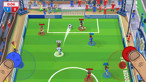 Soccer Battle - 3v3 PvP apkdemon screenshots 1