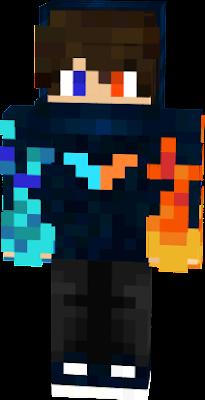 Fuego Nova Skin - Skin para minecraft pe fuego