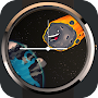 Watch Face with Asteroids APK icon