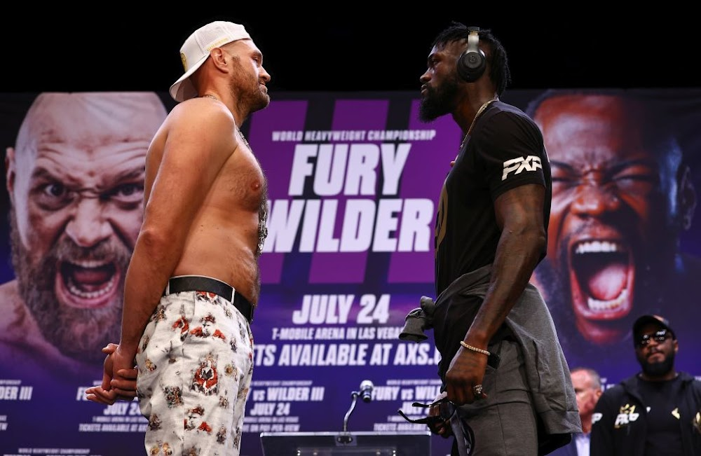 Deontay Wilder and Tyson Fury trade barbs ahead of trilogy fight