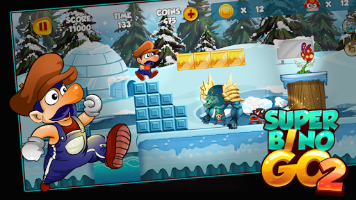 Super Bino Go 2 1.1.0 screenshots 2