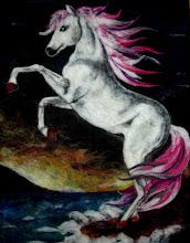 Photo: 214, Нетронина Наталья, Лунный танец, Шерстяные, акриловые, вискозные волокна(сухое валяние шерсти), 50х50см,