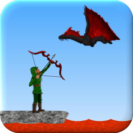 冒險App|Bow Butcher 2 - Dragon Hunter LOGO-3C達人阿輝的APP