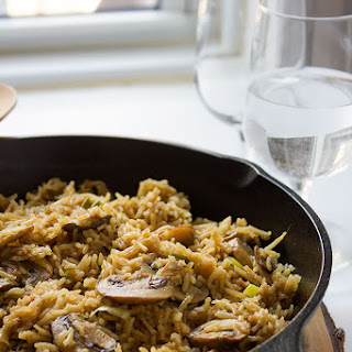 Mushroom & Rice Easy One Pot Recipe