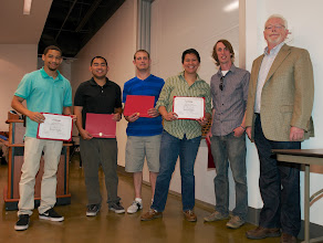 Photo: Brandon Wallace, Mark Oliva, Joshua Sausner, Catherine Soliva, Victor Lewis, and Larry Allen