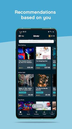 Fever - Discover. Book. Enjoy. screenshot