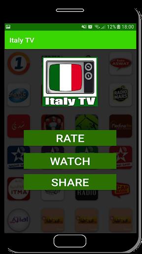 Italy TV: Italian TV channels Rai screenshot 2