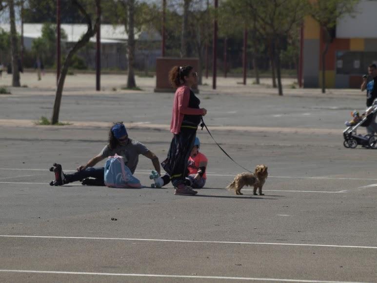 Las mascotas también se sumaron a un buen domingo.