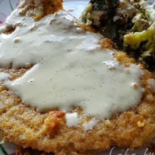 Pork Schnitzel With Tarragon Cream Sauce