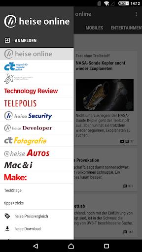 heise online - News 3.4.2 screenshots 23