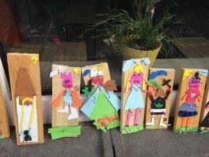 Een kunstproject voor de ganse school. Iedereen kunstenaar!