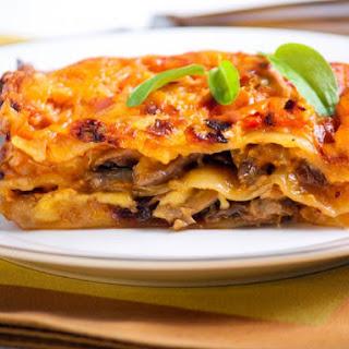 Portobello Mushroom Lasagna Recipes.