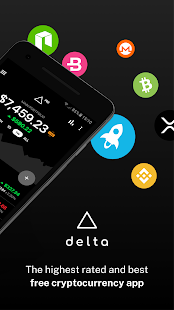 Delta - Bitcoin-/Kryptowährungsportfoliotracker Screenshot