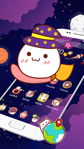 space cute kawaii theme screenshot 2