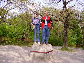 Photo: Dobogókő 2005 - Zsuzsával, a legjobb barátommal