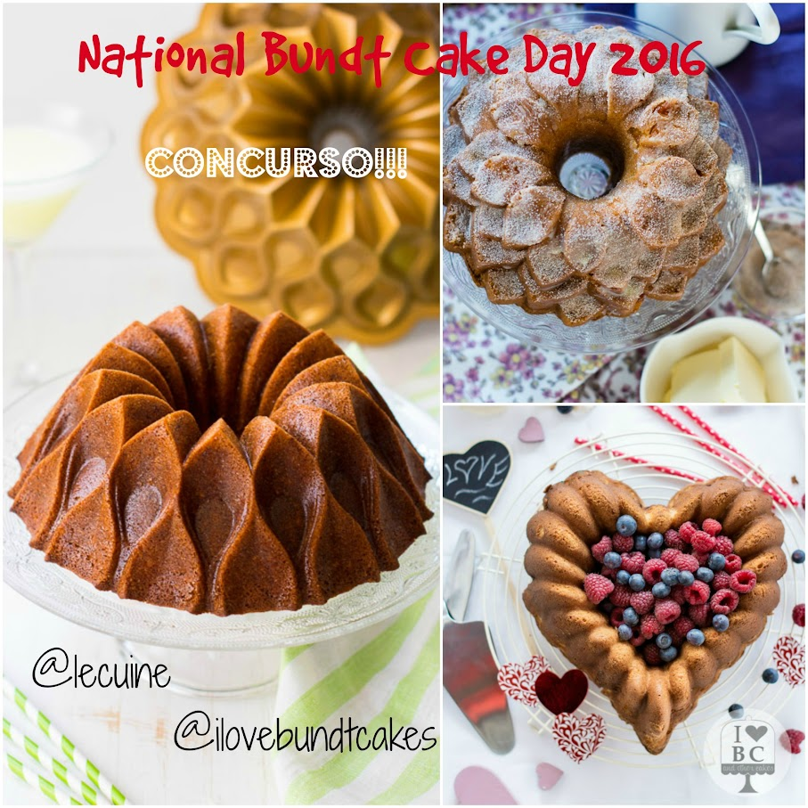 Concurso National Bundt Cake Day 2016