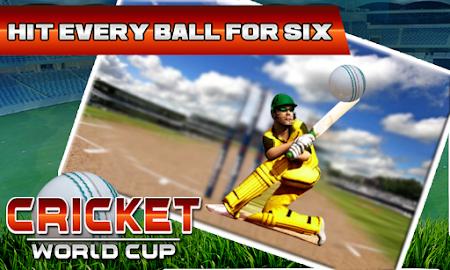 Cricket WorldCup Fever 2016 1.05 screenshot 1042504