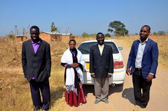 Photo: Ugenza. Uprostřed misionáři ASI-CS Hery a Felix