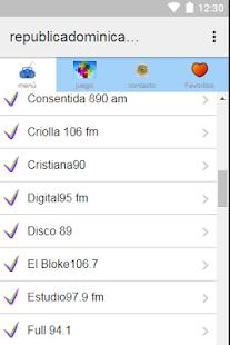 Radios Republica Dominicana Plus - náhled