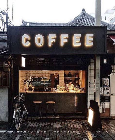 TRANG TRÍ MẶT TIỀN QUÁN CAFE TAKE AWAY