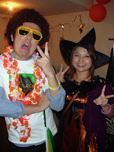 Photo: Afro Guy & Cute Witch