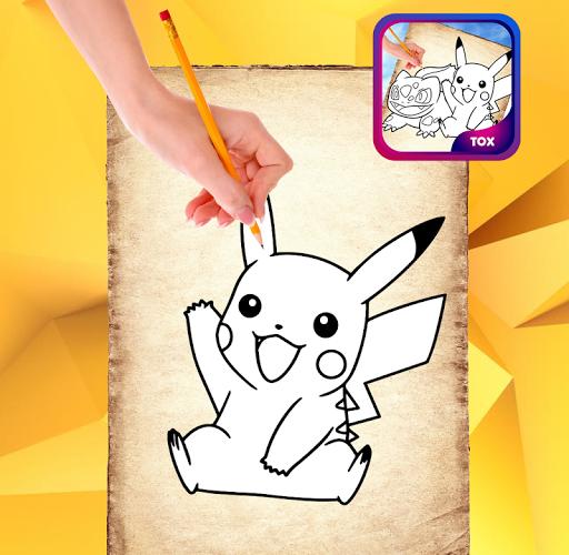 玩免費遊戲APP|下載How to draw Poké Pro app不用錢|硬是要APP