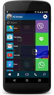 Win 10 Launcher Screenshot