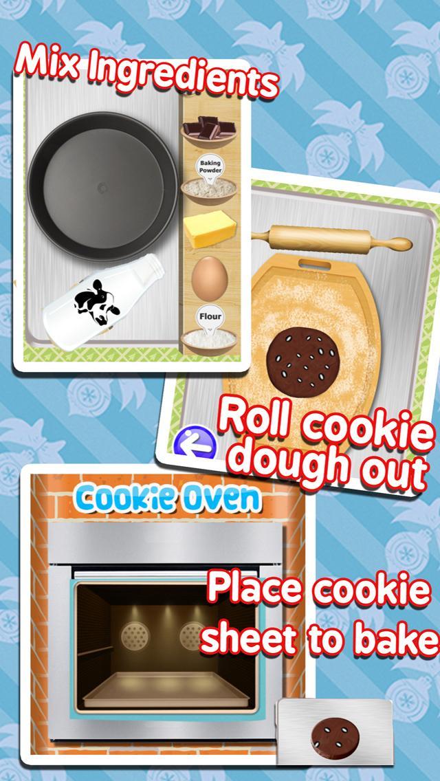 Скриншот Cookie Maker Make Bake Dessert
