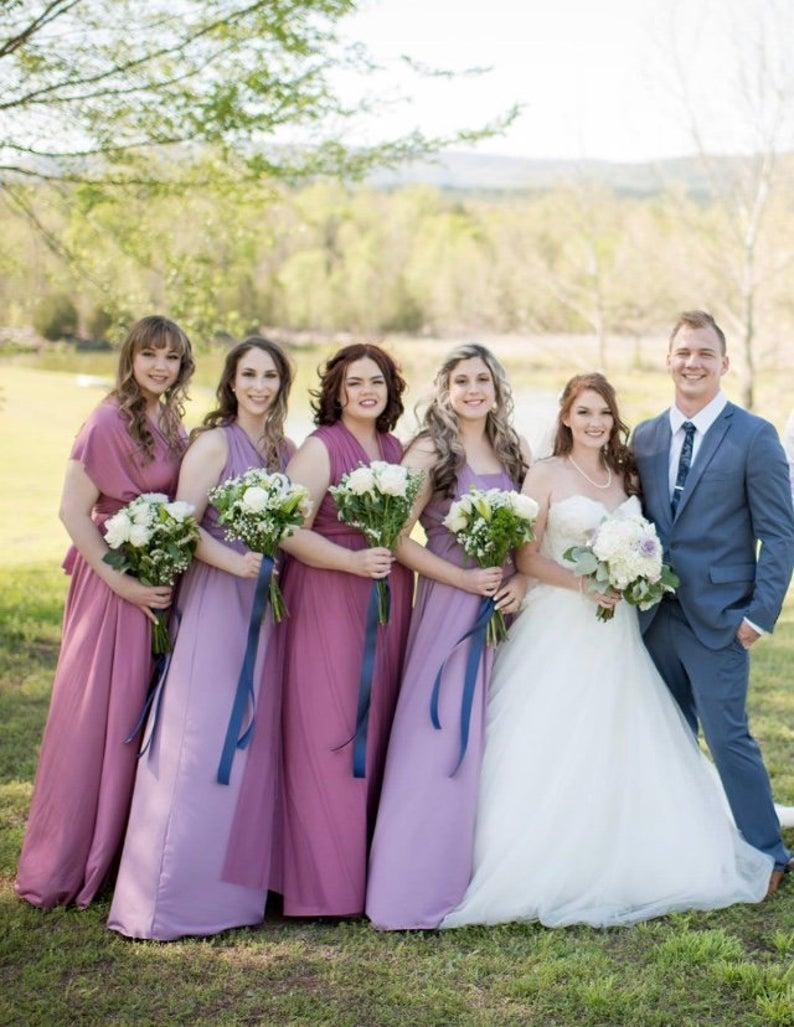 plus-size multiway bridesmaid dresses 1