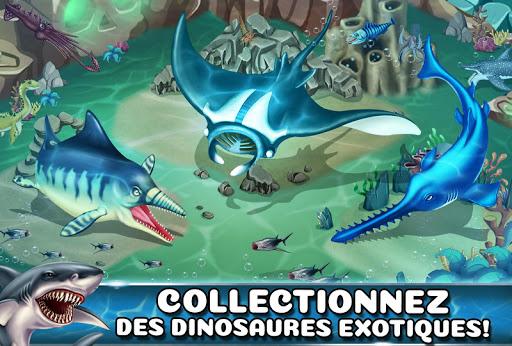 Jurassic Dino Water World-Monde de l'eau Dino fond d'écran 2