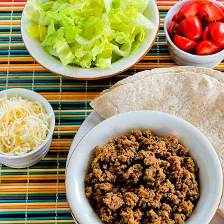 Slow Cooker Browns-in-the-Crockpot Spicy Ground Beef for Tacos, Burritos, or Taco Salad.