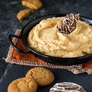 Pumpkin Cream Cheese Dip.