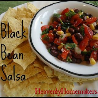 Great Lunch Idea! Black Bean Salsa