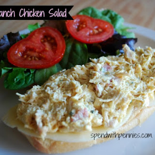 Bacon Ranch Chicken Salad