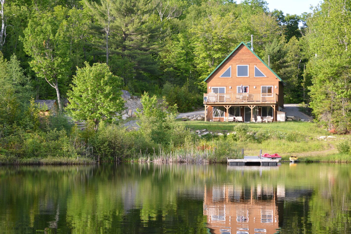 Waterfront cottages for rent with 4 bedrooms #7