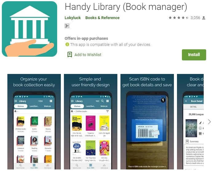 Handy Library (Book Manager)