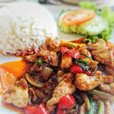 Pad Ped Over Rice