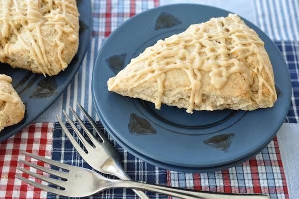 Peanut Butter & Banana Scones