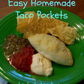 Easy Homemade Taco Pockets