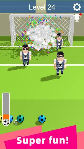 Straight Strike - 3D soccer shot game apkmr screenshots 5
