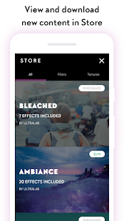 Filterloop: Photo Filters and Analog Film Effects Screenshot