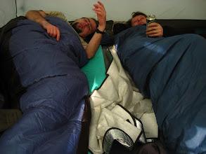 Photo: Pierwszy poranek w tym sezonie pod namiotem.
