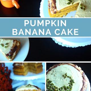 Pumpkin Banana Cake (Dairy-Free)